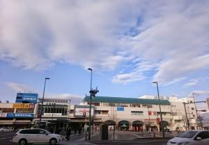 本日の松本駅前