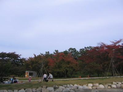 秋のアルプス公園